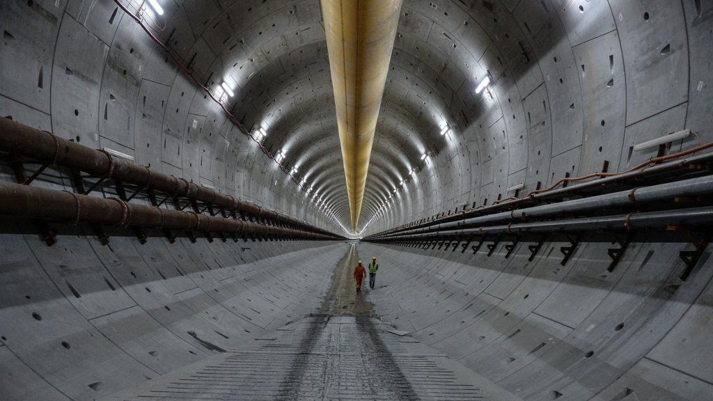Avrasya Tüneli Beton Kurutma Hizmeti